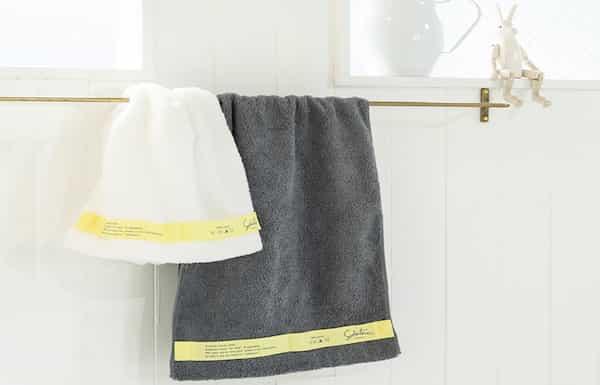 育てるタオルは吸水力に優れすぐ乾く