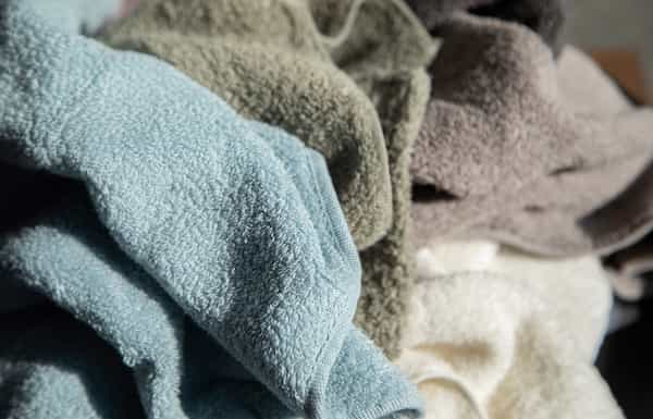 育てるタオルは肌触りが良く気持ちいい