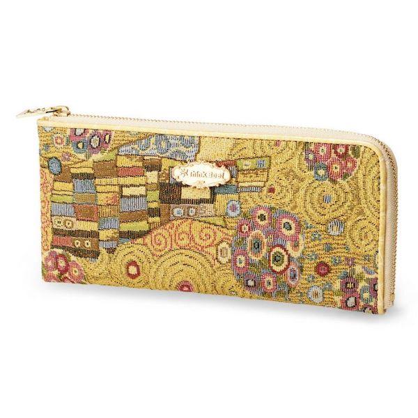 ゴールデンクリムトL型長財布の口コミ
