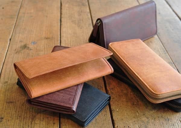 sot(ソット)財布はイタリアンレザーを使用