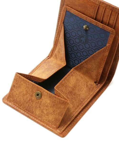 sot(ソット)財布は裏地に山梨県の伝統織物「甲州織」を使用
